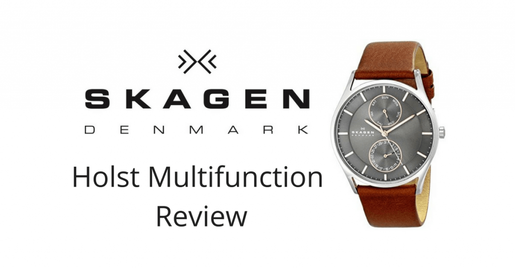 Skagen Holst Multifunction Leather Watch Review